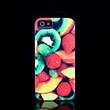 patrón de la fruta dura para el iphone 5 caso para el iphone 5 s
