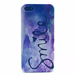 Smile  Pattern PC Hard Case For iPhone 5/5S