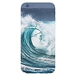 Waves Landscape Pattern Transparent TPU Material Phone Case for iPhone 6 /6S