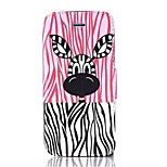 Pony Pattern PU Leather Phone Case for iPhone5/5S