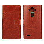 Magic Spider®Crazy Horse Open PU Wallet Case with Stand and Screen Protector for LG G4(Assorted Colors)