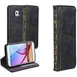 företag högkvalitativa böcker hela kroppen Fodral till Samsung Galaxy s6