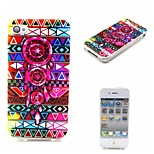 Dream Catcher Painting Soft TPU Case for iPhone 4/4S