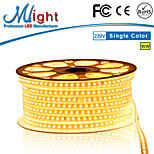 Mlight 1 Meter 72 leds/m 5050 SMD Warm White/White Waterproof/Cuttable 12 W Flexible LED Light Strips AC110-220 V