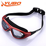 YOBO Unisex Anti-Fog/Adjustable Size/Anti-UV/Anti-slip Red Swimming Goggles