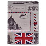 London Picture PU Leather Full Body TPU Case with Card Holder for Ipad Air Ipad 5
