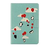 2015 nuevo amor árbol floral flip impresión ojos de color destacan la cubierta del caso de cuero para el iPad mini cubierta de la caja 1 2