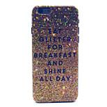 Glitter Breakfast  Pattern PC Hard Case for iPhone 6
