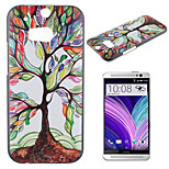 Colored Trees Pattern Painted PC Material Phone Case for HTC M8