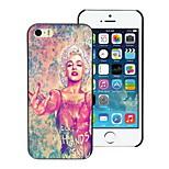 schöne Frau Design Hard Case für iPhone 4 / 4s