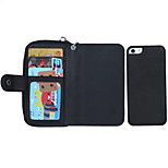 Specially Designed Split PU Leather Wallet Case Full Body Case for iPhone 5/5S