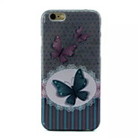 Butterfly Pattern TPU Phone Case For iPhone 6