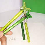 Bamboo Pendant Neutral Pen(Random Color)