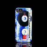 Magnetic tape Pattern Hard Cover for iPhone 5 Case for iPhone 5 S