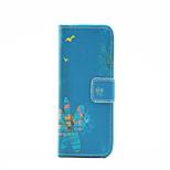 salire modello PU custodia in pelle per iPhone 5 / 5s