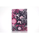 Pink Butterfly PU Leather Full Body TPU Case with Card Holder for Ipad Air