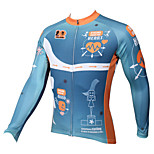 PALADIN Bike/Cycling Jersey / Tops Men's Long SleeveBreathable / Ultraviolet Resistant / Quick Dry / Reduces Chafing / Compression /