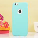 Solid Color Back Cover for iPhone 6 (Assorted Colors)