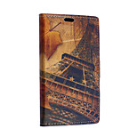 Eiffel Tower Pattern Full Body Case for Sony Xperia E4G(Assorted Colors)