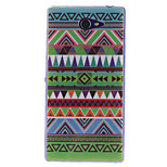 National Wind Patterns TPU Soft Case for Sony Xperia M2