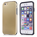 Super Protection 2 in1  Slim Hybrid High Impact Hard Silicone Case for iPhone  6  (Assorted Color)