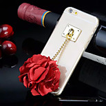 4.7 Inch Specially Designed Rose TPU Back Cover for iPhone 6(Assorted Colors)