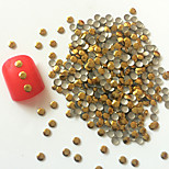 200PCS 3mm Golden Roundness Alloy Nail Art Golden&Silver Decorations