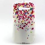 padrão balão pintado caso soft phone para a Alcatel c5