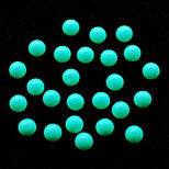 CandyPearl6mm 100pcs/lot Pearl Beads Nail Art DIY Phone Decoration Green Color 6mm Round Shape Candy Pearls