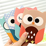 Cartoon Owl Pattern Creative Note(Random Color)