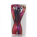 Materiał TPU kobiece wzór ciała dla telefonu Samsung Galaxy a5
