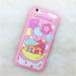 Cartoon  Pattern Paste Paper Painting TPU Phone Case For iPhone 6