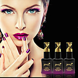 Newest Popular Top Fashion 15ML Light Change Soak-off UV Color  Gel Polish (Assorted Colors)