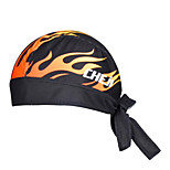 WEST BIKING® Unisex Wicking Kerchief Breathable Fire Pattern Polyester Pirate Kerchief Ultralight Cycling Accessories
