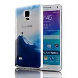 hegymászó mintás TPU telefon esetében Samsung Galaxy Note 4