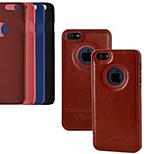 3,5 pouces cas de luxe en cuir PU Housse de retour pour iPhone 4 / 4S (couleurs assorties)