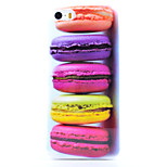 Color Bread Pattern Shiny Water Paste TPU Phone Case for iPhone 5/5S