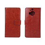 5 Inch Luxury PU Leather Case Back Cover for HTC One M9+/M9 PLUS(Assorted Colors)