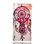 Campanula Color Pattern TPU Material Phone Case for Sony Xperia Z3