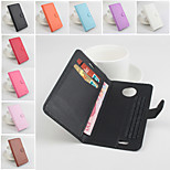 Protective PU Leather Magnetic Vertical Flip Case for Elephone P3000(Assorted Colors)
