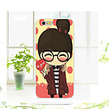New Fashion 3D Beauty Flower Colorful Totem Cartoon Case for Iphone 6/6SS 4.7