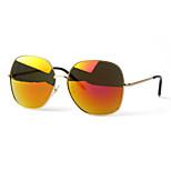 Women 's Mirrored/100% UV400 Oversized Sunglasses