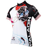 PaladinSport Women Short Sleeve Cycling Jersey New Style Yulan DX547 100% Polyester