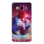tähtimuodostelmassa tpu materiaali pehmeä puhelin kotelo Samsung Galaxy a7