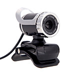 2015 New USB 2.0 12 M HD Camera Web Cam 360 Degree with MIC Clip-on for Desktop Skype Computer PC Laptop