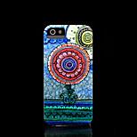 capa dura asteca padrão de flor mandala para iphone 5 capa para iphone 5 s