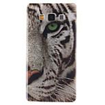 fehér tigris mintás TPU puha tok Samsung Galaxy a3