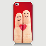 Cartoon Fingers Pattern Case Back Cover for Phone5/5S Case