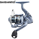 SHISHAMO BASIC 3000 5.5:1, 6 Ball Bearings Spinning Fishing Reel, Right & Left Hand Exchangable