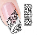 Water Transfer Printing Nail Stickers NO.1346